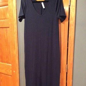 Zenana maxi dress (royal)